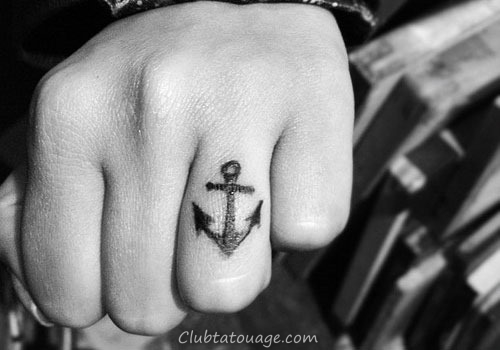 18 incroyable Anchor Tattoo Designs (11)