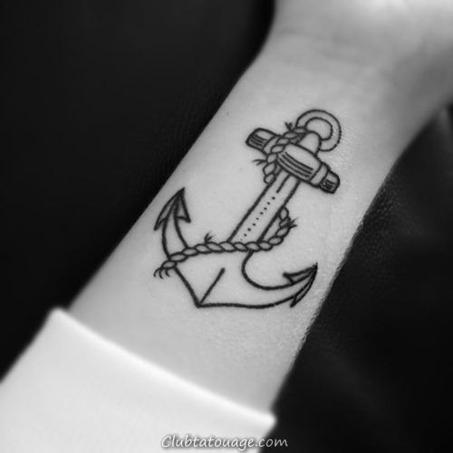 18 incroyable Anchor Tattoo Designs (12)