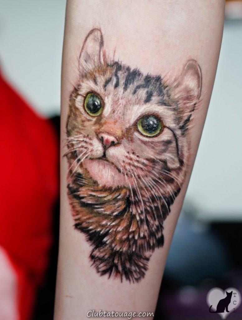 Tatouages: Chaque tatouage chat, conception, de placement et de style ...