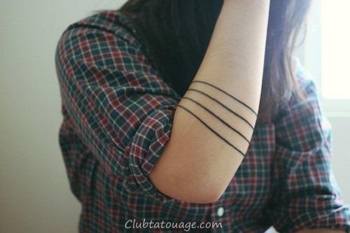 20 Incroyable solide Armband Tatouages (10)