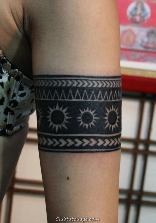 20 Incroyable solide Armband Tatouages (13)