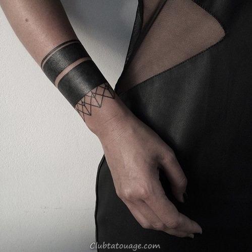 20 Incroyable solide Armband Tatouages (15)