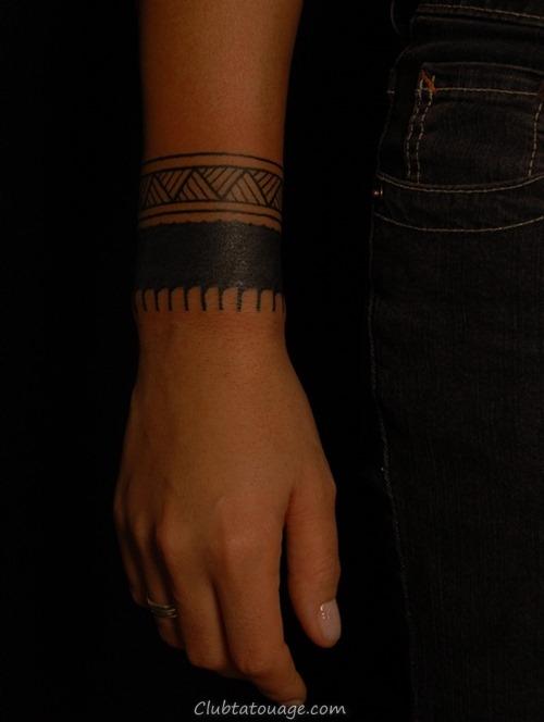 20 Incroyable solides Tatouages Armband (2)