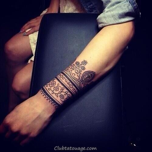 32 étonnants idées de tatouage au poignet