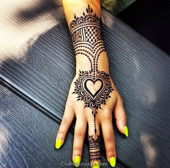 Jaw-dropping Henna Tattoo Ideas That You Gotta See