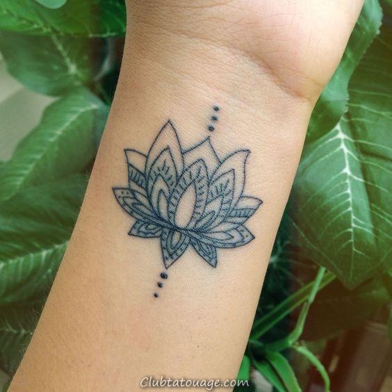 Lotus Flower Tattoo idées pour vous Excited