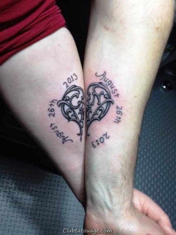 Adorable-couple-Tattoo-Designs-et-Crâne 600