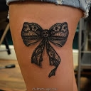 width Bow tatouages