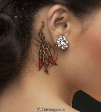 50 Meilleurs Designs Ear Tatouages et idées