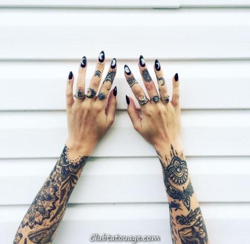 50 meilleures idées Finger Tatouages Vous devez voir