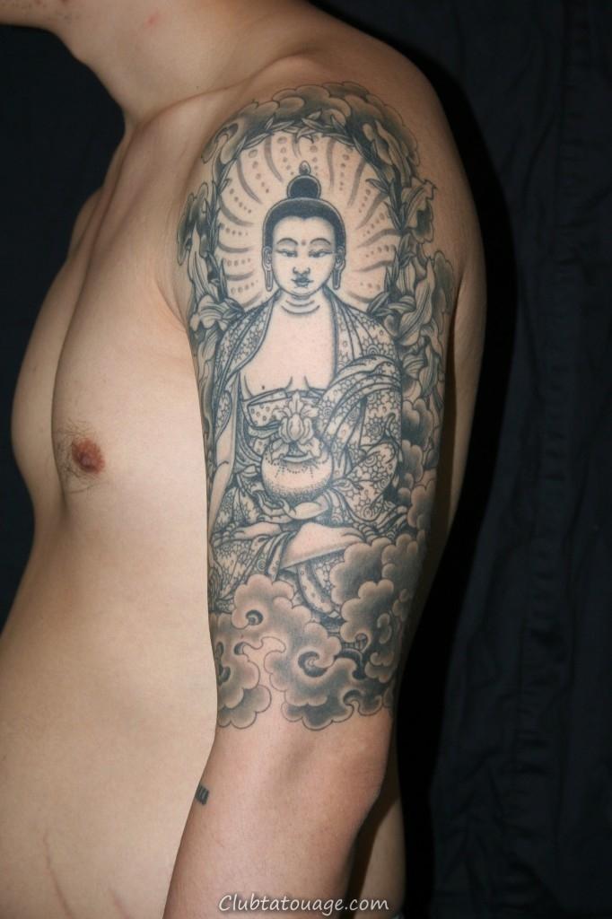 60 Meilleurs designs Buddha Tattoo
