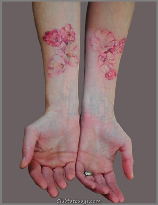 Cherry-Blossom-Tattoo-On-Hands