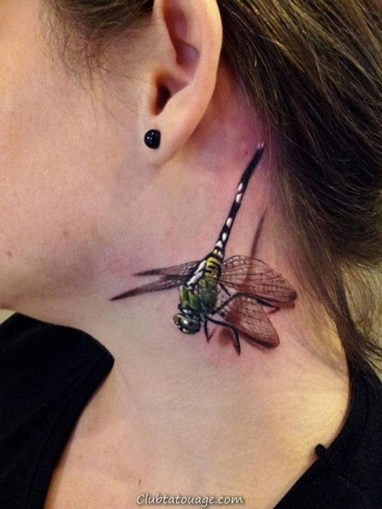 Tattoo Designs Dragonfly & amp ; Meanings