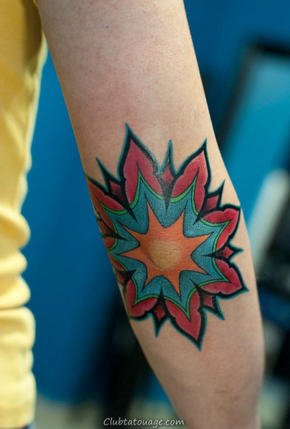 Elbow Tatouages Photos