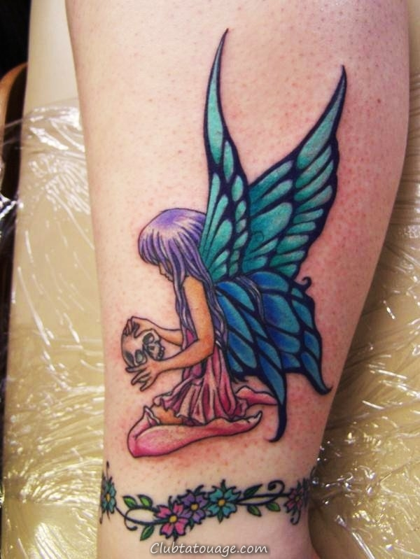 Tattoo Fée design Ideas Pictures Gallery