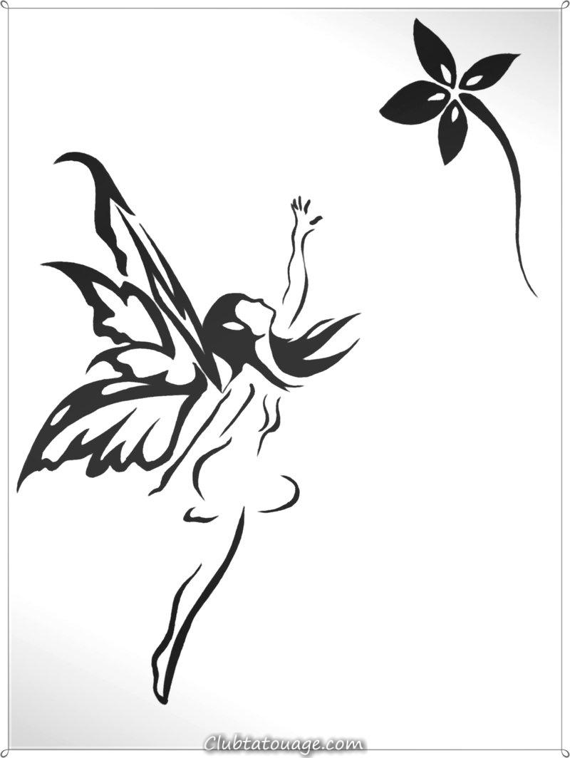 Fée Tatouages Designs pour améliorer votre beauté