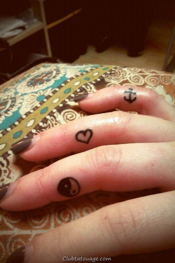 tatouages Finger _ petits tatouages