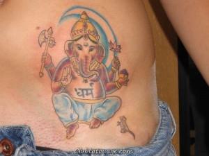 30 Meilleur Seigneur Ganesha Tattoo Designs et idées
