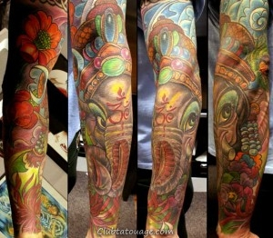Ganesh Tattoo 8