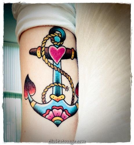 50 Meilleur Coeur Tatouages pour hommes et femmes