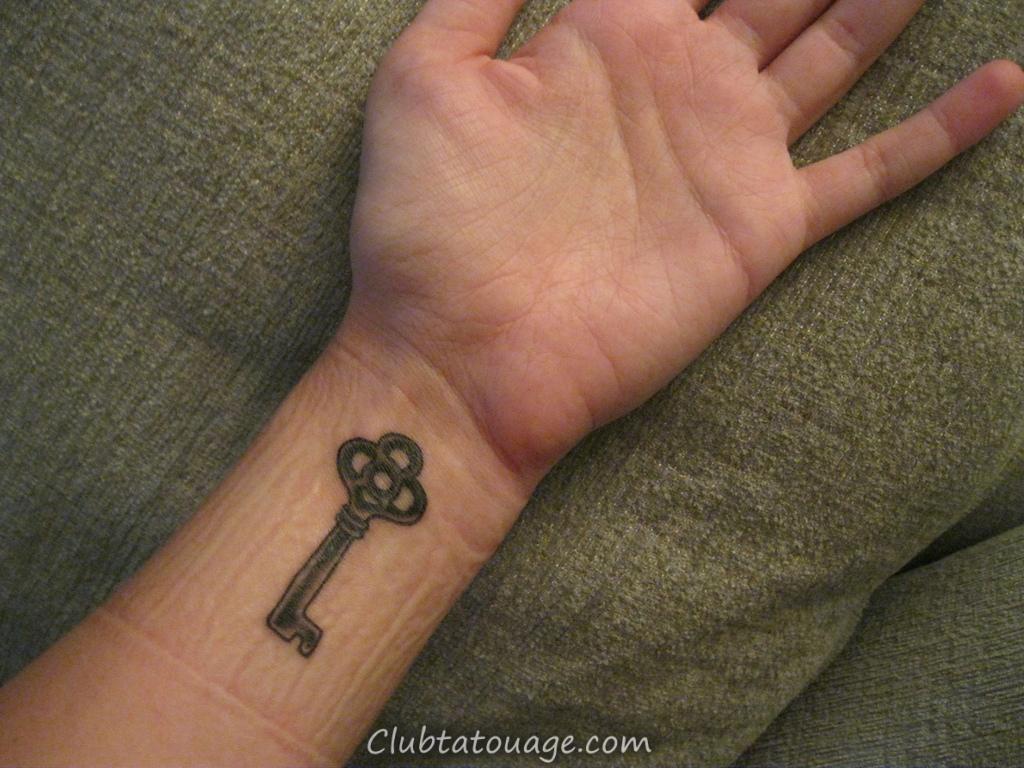 Tatouages clés Signification