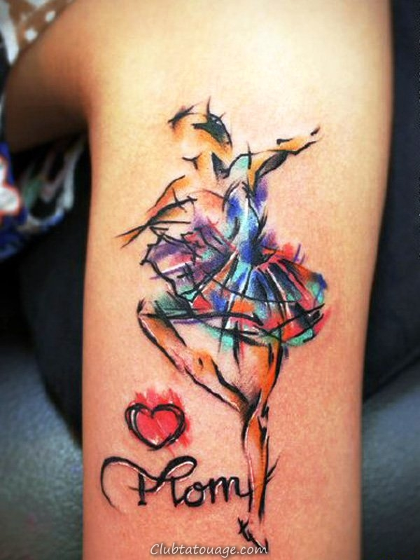 Luv-U-Mom-aquarelle-tattoo