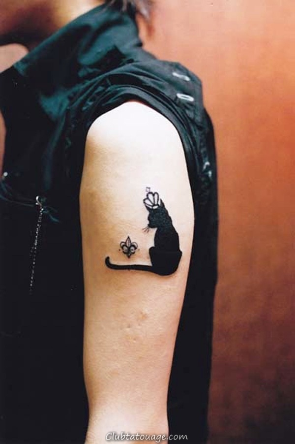 Petit-Cat-Tattoos-sur-Arm