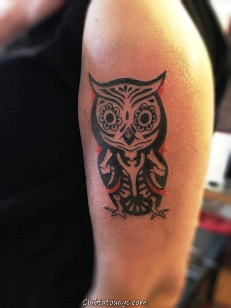 Petit-duc-Tattoo-On-Arm