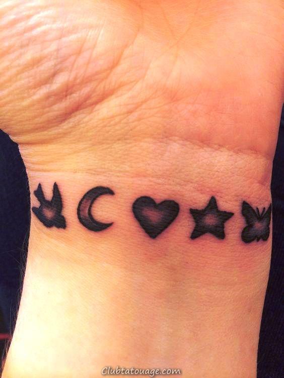 tatouage petit poignet _ Tatouages