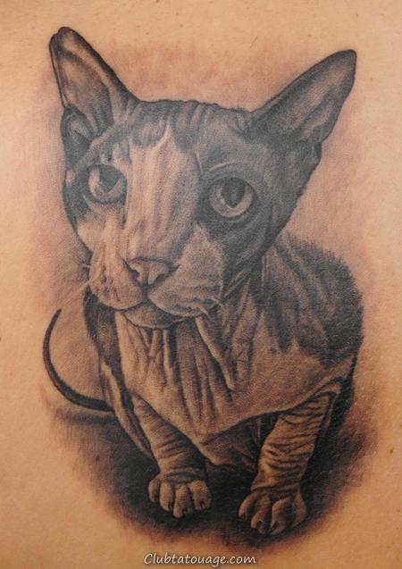50 Cat Tatouages Designs et des idées pour copie pour First Tattoo