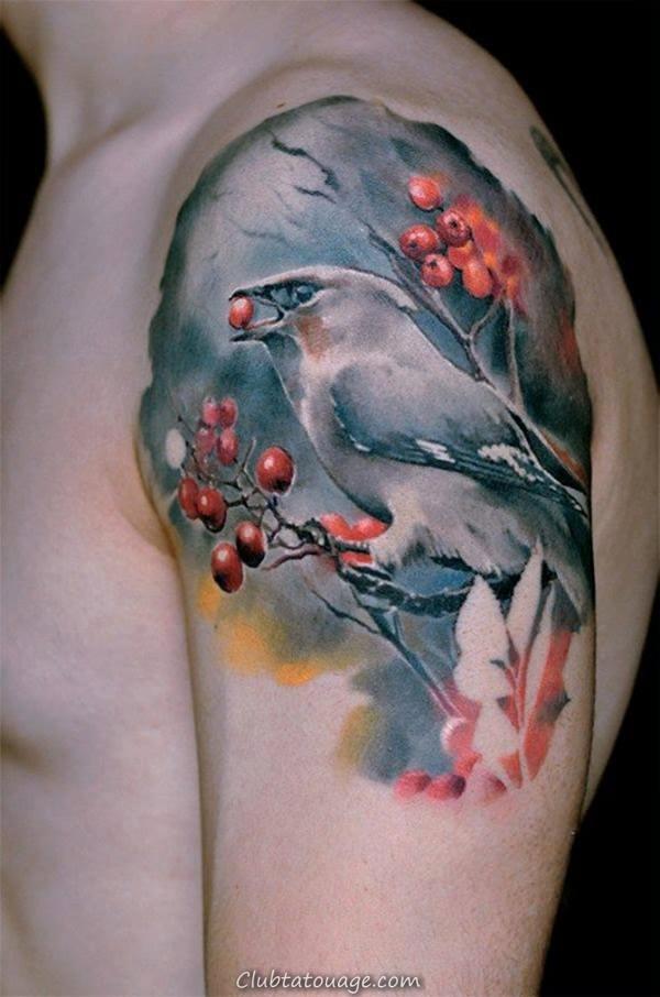 Tatouages oiseau 8