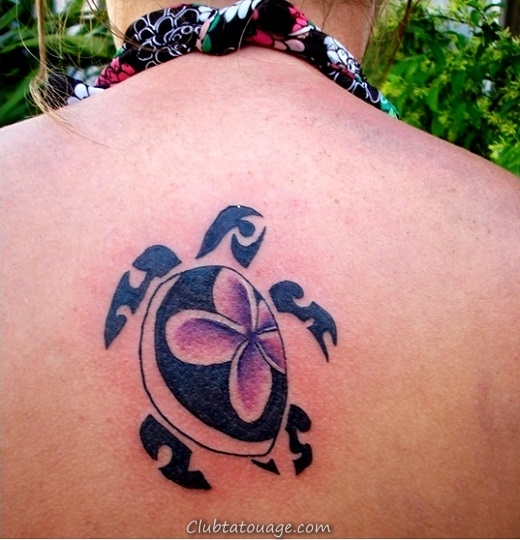 Tortue-Tattoo-On-Back