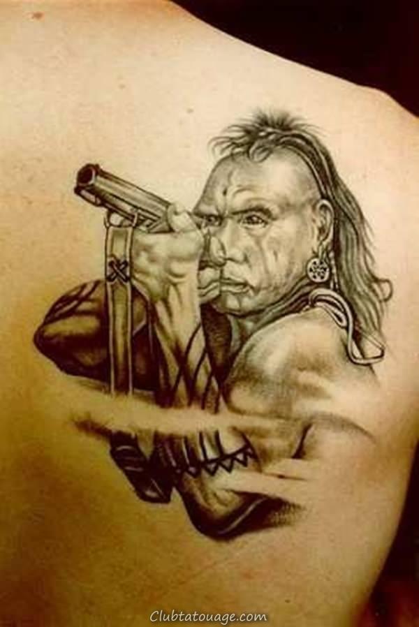 tatouage indien 2
