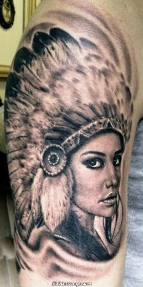 tatouage indien américain 10