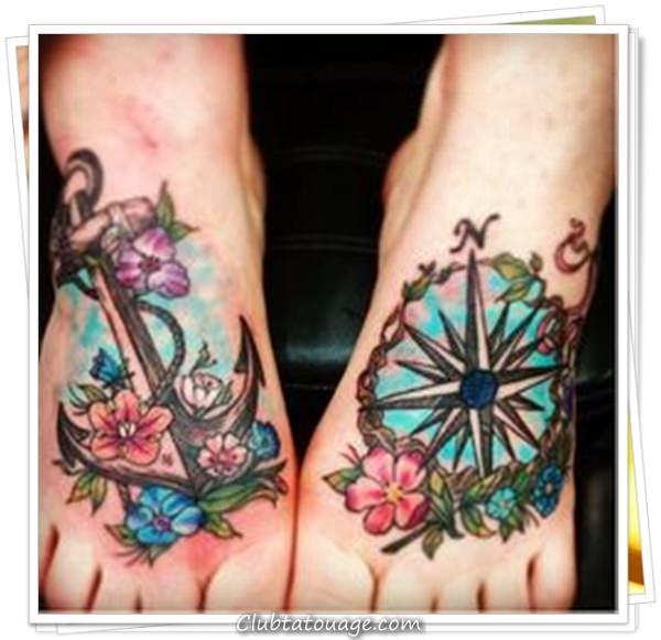 tatouage ancre 31
