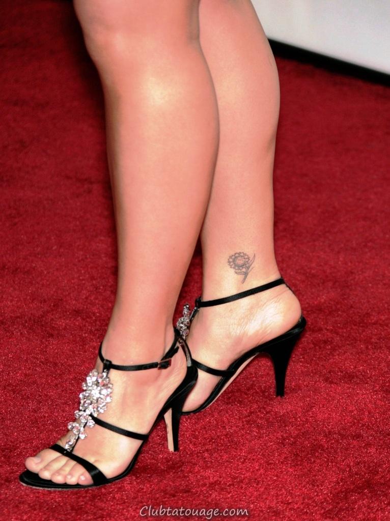 cheville tatouage