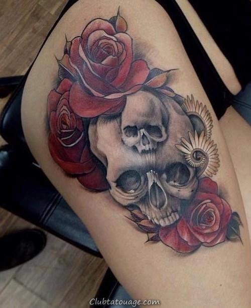 Nouveau tatouage de crâne Idées