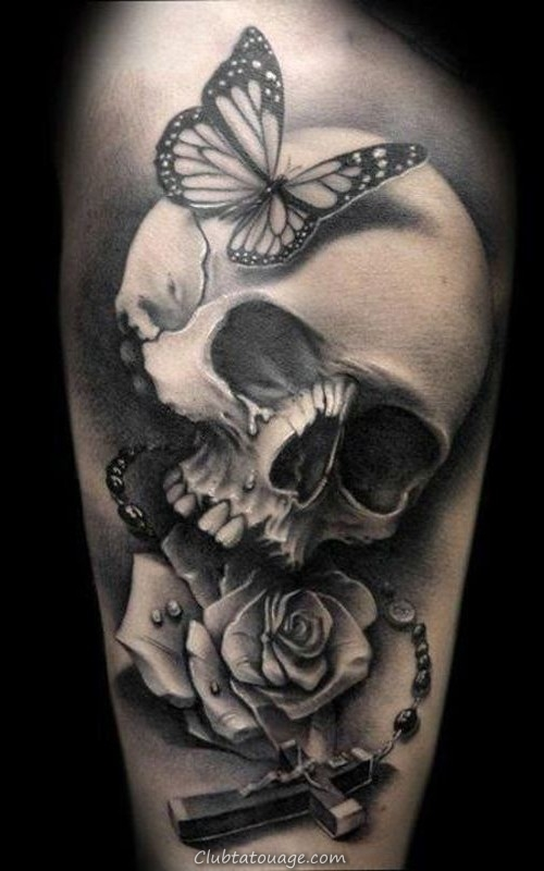 fleurs de tatouage