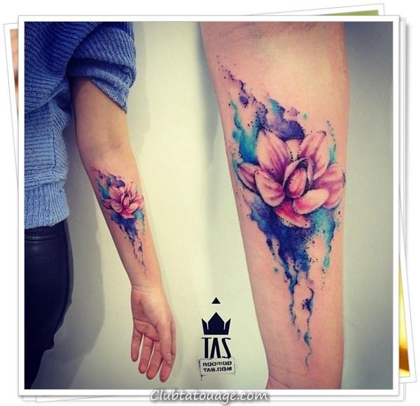 fleurs de tatouages 13