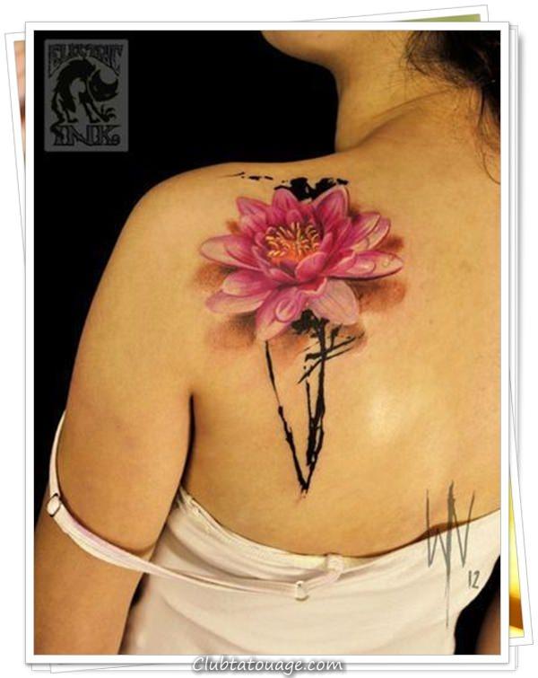 fleurs de tatouages 14