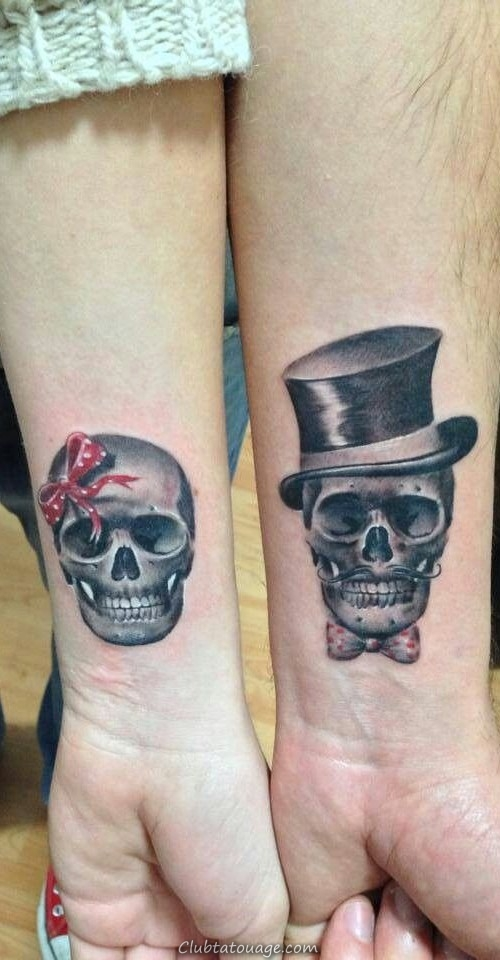 nouvelles idées crâne de tatouage