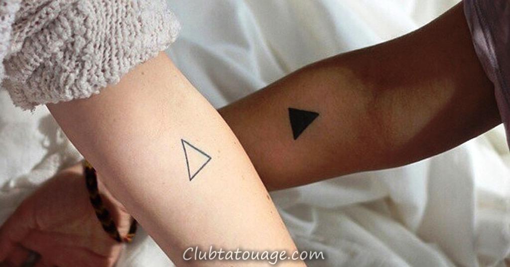 petits tatouages pour les couples idées