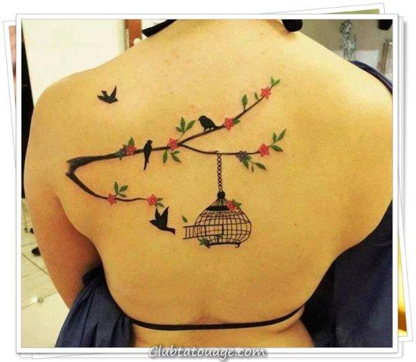 une fleur tatouages 12