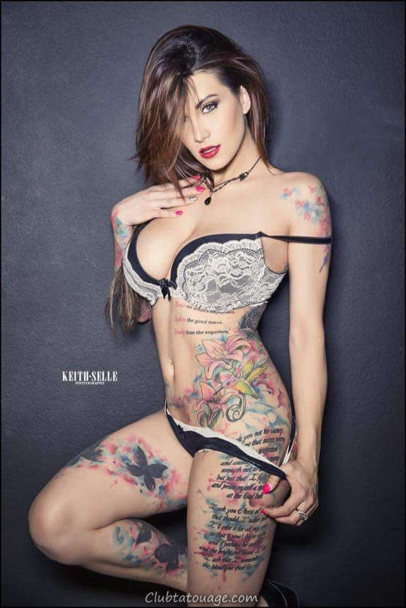 Belles filles tatouées vous aimeriez le plus (24)