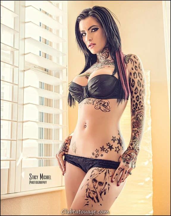 Belles filles tatouées vous aimeriez le plus (33)