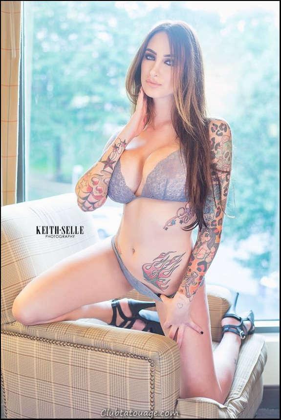 Belles filles tatouées vous aimeriez le plus (36)