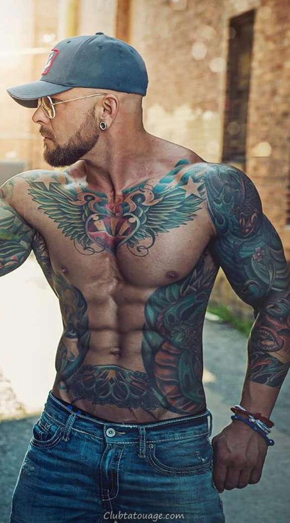 Hot Tattooed Men Vous avez jamais vu (16)