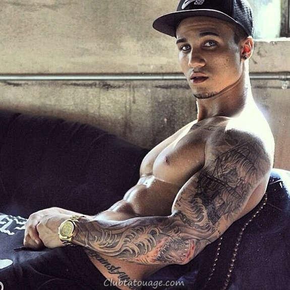 Hot tatoué hommes Vous avez jamais vu (21)