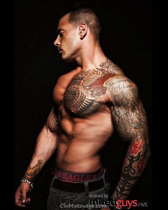 Hot Tattooed Men Vous avez jamais vu (22)