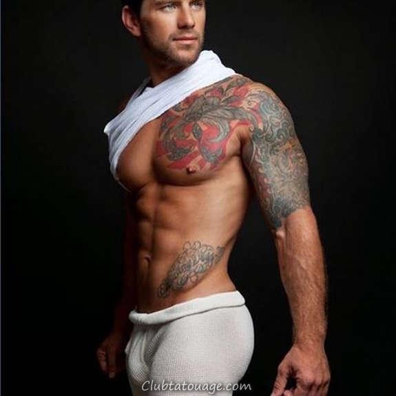 Hot Tattooed Men Vous avez jamais vu (8)